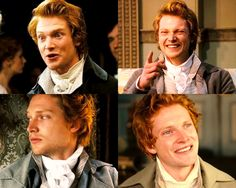 Mr. Bingley what are those first two faces? In the third one you look cool...but the first...HIDE!