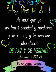 Hoy Dios te dice