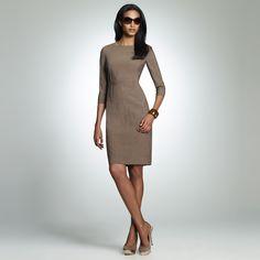 Jones New York: Dresses > Daytime Dresses > 3/4 Sleeve Dress