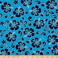 From Robert Kaufman Fabrics, this very lightweight combed cotton shirting fabric has a soft hand and fluid drape. This fabric is perfect for creating festive Hawaiian shirts, blouses, skirts, bedding and even quilting.