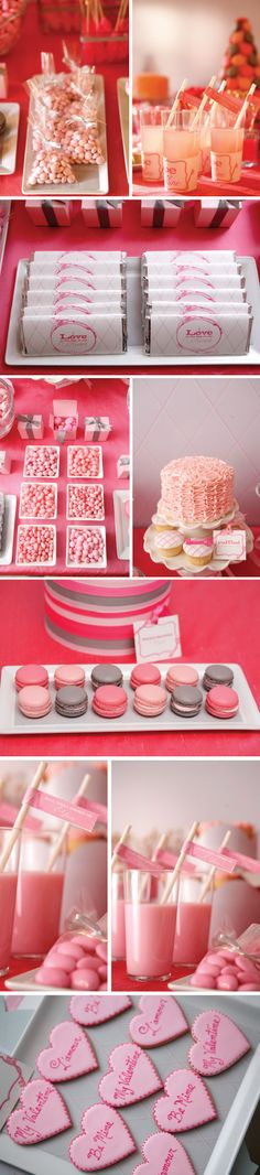 Amy Atlas + #wileyvalentine collab. Sweets table fun! #pinparty