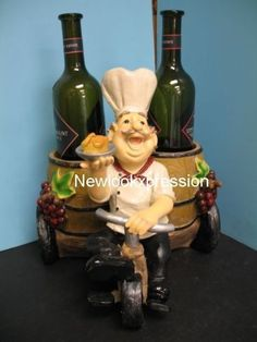 Italian fat chef waiter wine holder bistro bicycle bar home decor by Gift collection, http://www.amazon.com/dp/B0060RD6YO/ref=cm_sw_r_pi_dp_.qzGsb0Y6YVQS