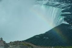 Niagara Falls (Canadian side).  Great place to take visitors (if they have their passport).