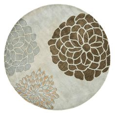 Round Light Grey Soho Rug - Safavieh - Safavieh