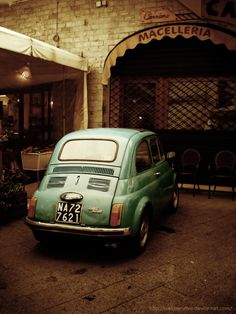 laragosta:    Fiat 500.
