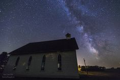 "St Anns 3 - Single exposure shot of the Milky Way and Historical St. Anns Church , Lake Badus, South Dakota. Taken 9/13/2015 9:38pm Canon EOS 6D  EF 16-35mmf/2.8L II usm @ 30 seconds f/2.8 6400iso 16mm RAW processed in Ps CC   - Like - <a href=""http://www.facebook.com/HomeGroenPhotography"">www.facebook.com/HomeGroenPhotography</a>   -follow - <a href=""http://instagram.com/homegroenphotography/"">@HomeGroenPhotography on Instagram</a>  - prints - <a…"