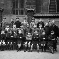 Joseph Migneret with his class, 1934. Joseph Migneret was the principal of a public elementary school in the  the Marais quarter in Paris. During the war he dedicated himself to saving as many Jews as he could. He joined a resistance network and began to provide false documents to fleeing Jews and to shelter others. On March 28, 1990, Yad Vashem recognized Joseph Migneret as Righteous Among the Nations.