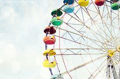 Old Ferris Wheel, Kokshetau Kazakhstan