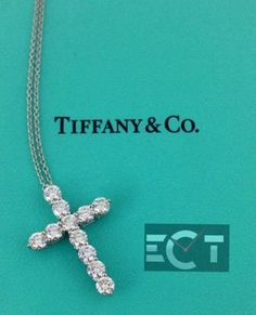 Tiffany & Co. Cross Pendant 1.71ct Diamond Set in Platinum. Get the lowest price on Tiffany & Co. Cross Pendant 1.71ct Diamond Set in Platinum and other fabulous designer clothing and accessories! Shop Tradesy now
