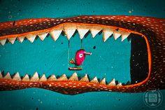 *monstruo* by Robert Romanowicz, via Behance
