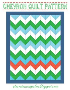 Chevron Quilt. My sister would die if I made her this. If I only had time...