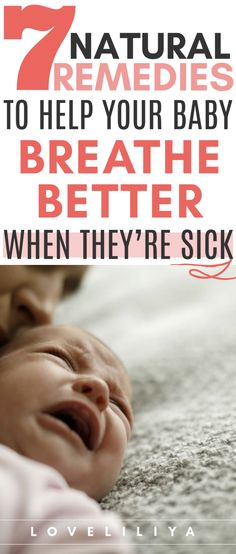 7 Natural Remedies for Surviving Your Baby's Flu/Cold - LoveLiliya - Parenting interests Mom Advice, Parenting Advice, Baby Flu, Babys First Cold, Baby Hacks, Mom Hacks, Baby Tips, Babies First Year, Friends Mom