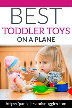 Are you looking to encourage imaginary play in your toddler? These toddler toys are perfect for kids that love imaginary play. There are many benefits from this type of play such as boosting language and problem solving skills. Best Toddler Toys, Toddler Play, Baby Play, Toddler Activities, Toddler Stuff, Toddler Learning, Toddler Travel, Travel With Kids, Baby Travel