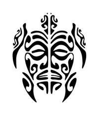 tortue-polynesien-pochoir-tatou-z. Maori Tattoos, Maori Tattoo Frau, Tribal Turtle Tattoos, Tattoo Tribal, Turtle Tattoo Designs, Polynesian Tattoo Designs, Maori Tattoo Designs, Samoan Tattoo, Animal Tattoos