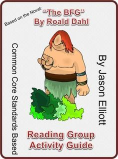 The BFG by Roald Dahl Reading Group Activity guide.  (Powerpoint Maniac)