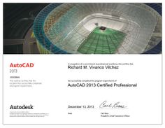 Autodesk Certified Professional in Autocad