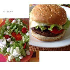 #hamburger fait par @mathdjx  #laReunion by nadine974