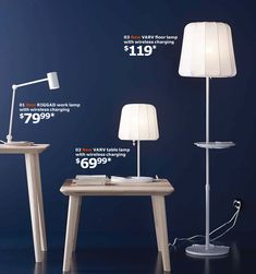 These incredible new lamps from IKEA have superpowers. They let you charge your smartphone without any cords. Yes, that's right, no more digging around, looking for that elusive charging device....