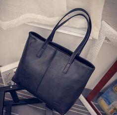 Fashion Women Bag Totes Women PU Leather Handbag Brief Shoulder Bags