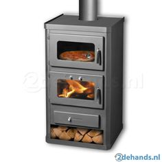 Superb Duo Oven Cooker Stove With Back Boiler   Wood Burning And Multi Fuel    Maximum Output   Small Foot Print