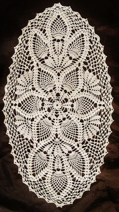 Trendy crochet doilies oval tablecloths Knitting TechniquesKnitting For KidsCrochet BlanketCrochet Scarf # Crochet Table Runner Pattern, Free Crochet Doily Patterns, Crochet Doily Diagram, Crochet Motif, Crochet Designs, Free Pattern, Diy Crafts Crochet, Crochet Art, Thread Crochet
