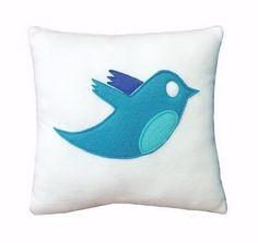 Twitter.....Cool Geek Pillows