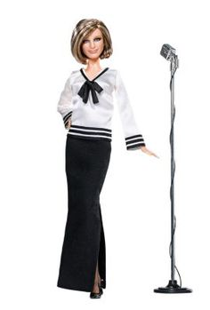 Barbra Streisand, the way she was. i love barbra . i love shes a barbie and this outfit was one of barbra*s first outfits she was on with judy garland show. Barbie Und Ken, Barbie I, Barbie World, Barbie Clothes, Celebrity Barbie Dolls, Poppy Parker, Barbra Streisand, Ken Doll, Barbie Collector