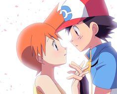 Misty y Ash