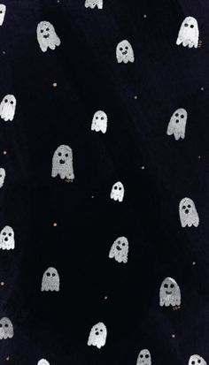 Ghost Black White Phone Wallpaper