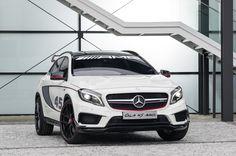Mercedes-Benz Concept GLA 45 AMG #MercedesBenz #GLA #LAAutoShow #Launch