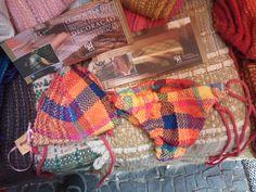 biquinis 100% algodão com tecido feitos em tear manual