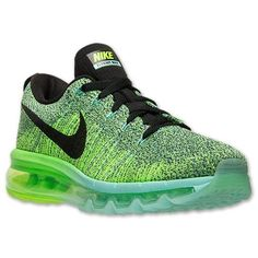 I would never spend 225 $ on tennis shoes, but, i do like these.  Women's Nike Flyknit Air Max Running Shoes| Finish Line | Hyper Turquoise/Black/Electric Green