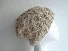 KNIT BEANIE Mütze 100% Merino feinste Wolle von flowerchildbyAvK