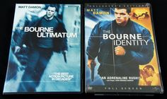 Bearing distinct affinity for its European setting and classic Hollywood suspense films, The #BourneIdentity andThe #BourneUltimatum succeed as unusually smart character-driven thrillers. #MattDamon #Thriller #Action #DVD #Movie