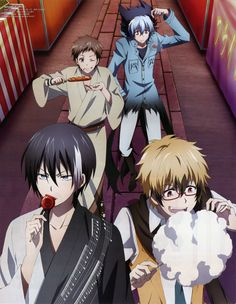 SERVAMP (サーヴァンプ) from Animedia Deluxe+Vol.2