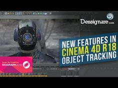 New In Cinema 4D R18: Object Tracking Part 1 - YouTube