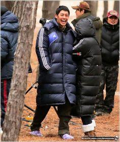 (Photos) Kim Hyun Joong 김현중 Shooting for Inspiring Generation (감격시대) at Buan and Wando by MURDERERQ