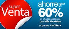SUPERVENTA  Ahorre hasta un 60% en artículos selectos de  Los Más Vendidos http://es.puritan.com/a-z/superoferta/?scid=29138