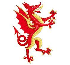 """Y Ddraig Goch (""""the red dragon"""")"""