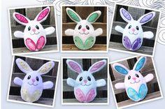 Plush Easter Bunny, Peekaboo bunny, Surprise Bunny, Easter egg Bunny, Custom Made to Order Toy Bunny