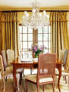 A little too formal but love the french door in the dining room.