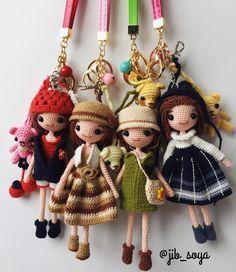 จะถักงานสะสมไว้ ออกร้านตอนสิ้นปี ไหนตัวแรก!! ยังไม่มีซักตัว #มโนเก่งเนอะ #amigurumi #cute #crochet #handmade #gift #girl #jibsoya