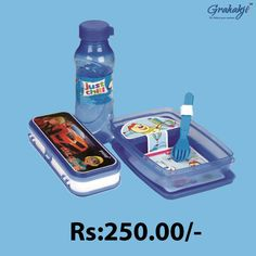 HAPPY TIME COMBO LUNCH CONTAINER SET. SET Shop for HAPPY TIME COMBO JUNIOR LUNCH CONTAINER SET Online at Grahakji.com #Lunchbox #tiffinbox #containerset #online #shopping #kitchen #accessories #grahakji #CombOffers #Offers #Discount