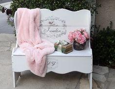 DIY:: French Garden Bench....children's toy box or window seat instead