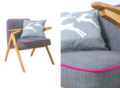 Armchair type 300-177,originally produced in 60's, refurbished by NANA design in 2013