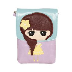 Little Girl Purple Pouch, 45.8% discount @ PatPat Mom Baby Shopping App