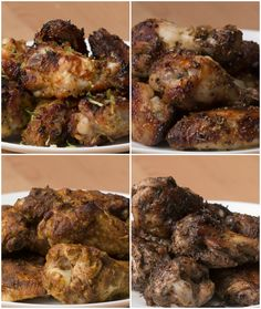 Chicken Wings 4 Ways