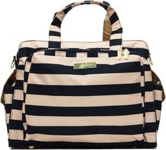 The JuJuBe Be Prepared diaper bag is a chic tote available in patterns and solids. Shop the Be Prepared diaper bag and other bestselling styles at JuJuBe. Striped Bags, Baby Diaper Bags, Album, Baby Items, Fashion Backpack, Gym Bag, Nordstrom, Ju Ju, Tote Bag