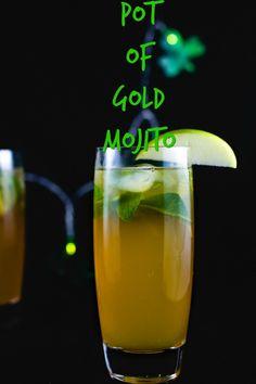 Pot of Gold Mojito- San Francisco Chef Food Blogger Easy Recipes