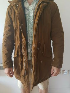 7a84b657 Zara Mens Padded Jacket Warm Winter Oversized Coat - Mens Winter Coat from  ebay UK #